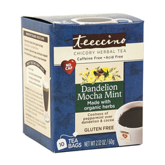Dandelion Mocha Mint Tea Bag 10 Ct