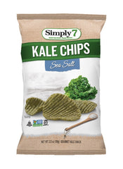 Simply7 Kale Chips Sea Salt - 3.5oz
