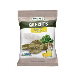 Simply7 Kale Chips Lemon & Olive Oil - 0.8oz