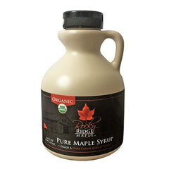 Rocky Ridge Maple Pure Organic Maple Syrup 16 oz.