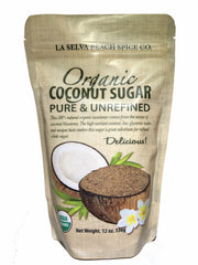 Organic Coconut Sugar 12 oz. Pouch