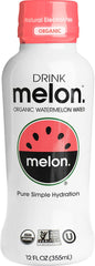 DRINKmelon Organic Watermelon Water, 12oz bottle