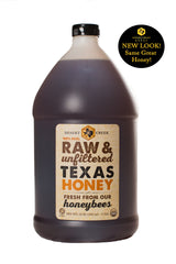 Desert Creek Honey Raw, Unfiltered, Unpasteurized American Honey, 1 Gallon, 12 lbs