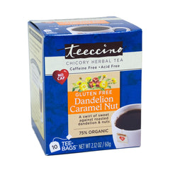 Dandelion Caramel Nut Tea Bag 10 Ct