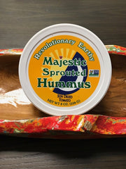 Sun Dried Tomato Sprouted Raw Hummus*3 PACK