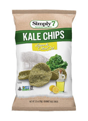 Simply7 Kale Chips Lemon & Olive Oil - 3.5oz