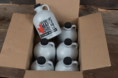 Half Gallon Organic Pure Vermont Maple Syrup, Case of 6
