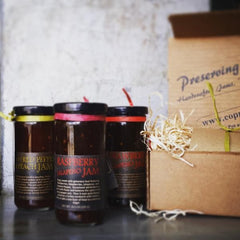 Pepper Jam Trio - Raspberry Jalapeno, Strawberry Jalapeno, Roasted Red Pepper & Peach
