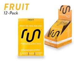 Run Gum Energy Fruit 12ct Box of Packets