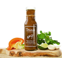 Sauce No. 4 — Spicy Nam Pla, Fresh Lime & Coriander Sauce