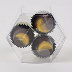 3 Piece Vegan Passion Fruit Truffles