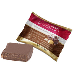SimpleMD Chocolate Almond Mediterranean Protein Bars (12 Pack)
