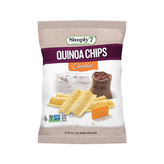 Simply7 Quinoa Chips Cheddar - 0.8oz