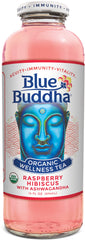 BLUE BUDDHA ORGANIC RASPBERRY HIBISCUS WELLNESS TEA