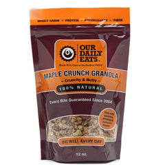 Maple Crunch Granola - 6 Pack