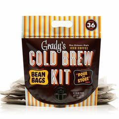 Grady's Cold Brew Bean Bags Kit