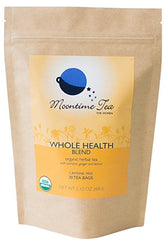Organic Whole Health Tea with Turmeric, Ginger, Lemon and Black Pepper