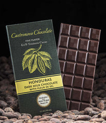 Honduras 60% Dark Milk Chocolate with Fleur de Sel