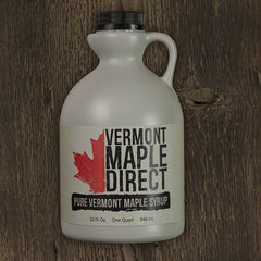 Quart Organic Pure Vermont Maple Syrup