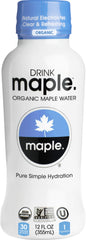 DRINKmaple Organic Maple water, 12oz bottle
