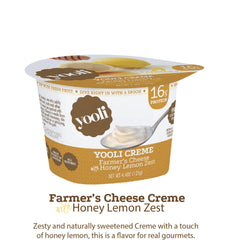 Yooli Farmer's Cheese Creme: Honey Lemon Zest