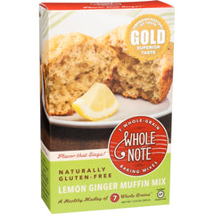 Whole Note Lemon Ginger Muffin Mix