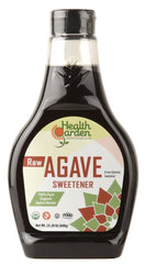 Health Garden Organic Raw Agave 23 oz, 4 pack