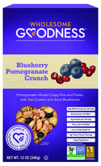 Wholesome Goodness - Cereal - Blueberry Pomegranate Crunch