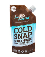 Cold Snap:  Functional organic chocolate hard shell