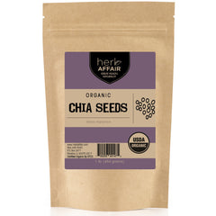 Herb Affair Chia Seeds, One Pound (1 LB.) Package