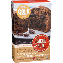 Whole Note Cappuccino & Dark Chocolate Muffin Mix