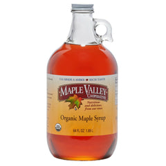 Maple Valley 64 oz Amber & Rich Organic Maple Syrup