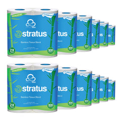 Stratus Bamboo Toilet Paper by Nimbus Eco (48 pack)