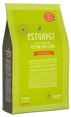 KetunPet Super Premium vegan dog food for PUPPIES - Bag of 6.6 lbs