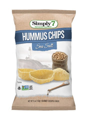 Simply7 Hummus Chips Sea Salt - 5oz