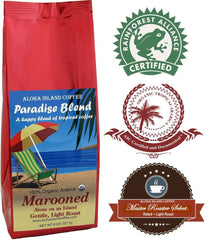Aloha Island Coffee, Paradise Blend, Marooned Light Roast Ground Coffee