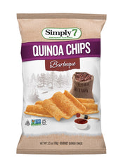 Simply7 Quinoa Chips Barbeque - 3.5oz