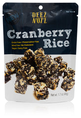 Cranberry Rice Snacks
