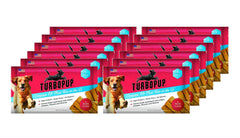 12-Pack TurboPup Complete K9 Meal Bar On the Go in Bacon Flavor For Dogs