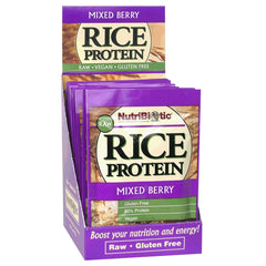 Rice Protein Packets, Mixed Berry 12ct.