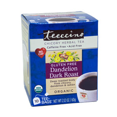 Dandelion Dark Roast Tea Bags 10ct