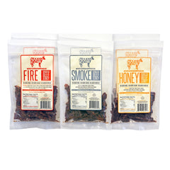 Naked Cow All Natural Grass Fed Beef Jerky - 6 Pack