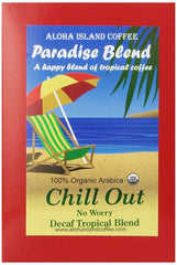 Aloha Island Coffee, Paradise Blend, Chill Out! No Worry Decaffeinated Coffee Pods, 18 ct.