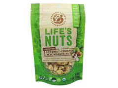 Life's Nuts - Organic Raw Sprouted Coconut-Crusted Macadamia Nuts