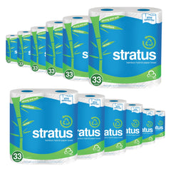Stratus Bamboo JUMBO Paper Towel by Nimbus Eco, Select-a-size (24 pack)