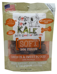 Dogs Love Kale SOFT Chicken & Sweet Potato