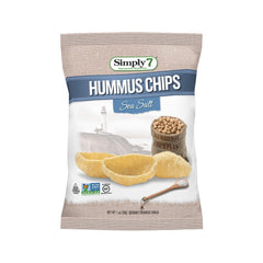 Simply7 Hummus Chips Sea Salt - 1oz