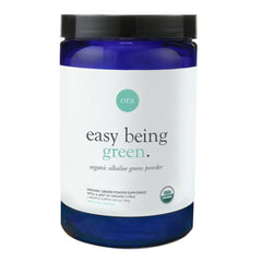 Easy Being Green- Organic Greens Powder, Citrus Flavor