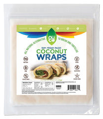 NUCO All-Natural Gluten Free Coconut Wraps