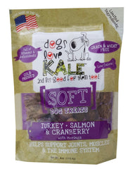 Dogs Love Kale SOFT Turkey/Salmon & Cranberry